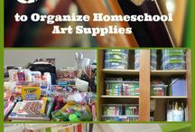 Homeschool Organization / Homeschool organization, tips and tricks.