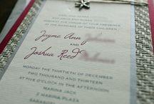 Beach Theme/Tropical Wedding Invitations