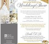 6th Annual  Wedding Show / Taking place on March 22nd 2015, our 6th annual wedding show has a variety of vendors! We are so excited!