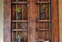pallet shelves-wall shelves