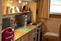 sewing/craft room ideas