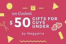 Gifts For Guys / Cool gifts for guys, cheap gifts for men