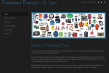 Promotional Products / A collection of catalogs, specials, and ideas for promotional products for your business! / by Cindy Wooten