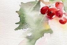 ken howard watercolour