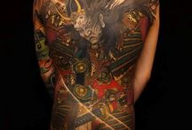 Samurai Tattoos / Samurai tattoo is one body art that is getting more and more popularity in the entire world these days. http://fabulousdesign.net/samurai-tattoo-design/