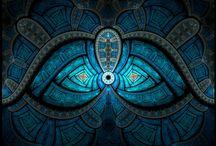 P I G / Olhe como as cores conversam entre si, deixam um aspecto harmonioso ou chocantemente gracioso. <3