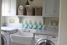 Laundry Rooms / by Leanne Heaxt