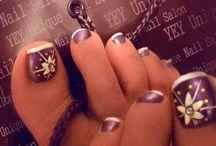 uñas todo estilos / decoración de uñas de los pies