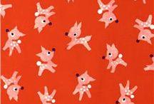 Cotton + Steel fabric various designers / Rifle Paper Company designer Melody Miller designer