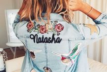 Clothing with patches