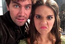 Reign / I just kinda adore Bash and Kenna. :P But all the characters and actors/actresses are awesome.