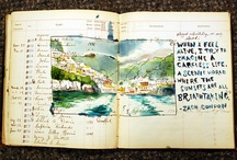 colagens ,scrapbooks, sketchbook...