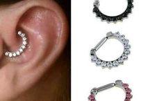 piercings, tattoos