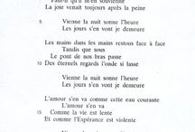 Poems / Mostly french poetry