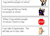 visuals about behaviour at school