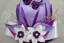 fialové s motýľom