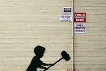 NYC street art / Sztuka z ulic Nowego Jorku :) Dokładny adres podany pod pinem. Na mapie podano najbliższy możliwy adres.