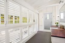 Plantation Shutters / Shutters so versatile and practical for our Queensland climate.