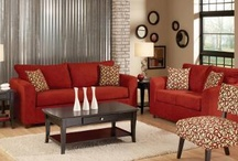 Red sofa client