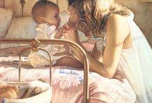 Realistic watercolor paintings: Steve Hanks