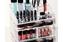 makeup organizer / makeup organizer