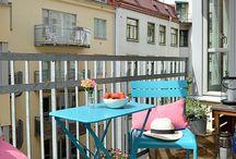 Balconi e giardini