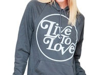 LTL Products / All of these products can be found at www.livetoloveapparel.com