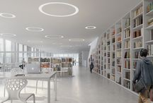 Nuova biblioteca di Varna / Architectural Visualization for AMA – Andrea Maffei Architects