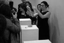Exposition : Fête de la Francophonie en Arménie en Mars 2014 / avec la participation de Claire Bolay, Elodie Wismer & Juan Sebastian Galan Bello, Bachelors 2013 du département Design Bijou de la HEAD - Genève