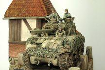 Modelling - US M4 Sherman