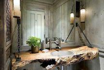Salle de bains en pierre naturelle