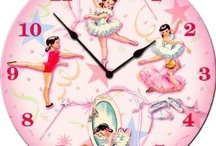 Myah's Bedroom Decor  / Vintage Ballerina's ~ in pink, white, pale green