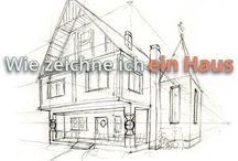 Häuser zeichnen