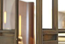Двери металл + стекло