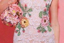 Vestidos com flores DA