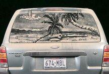 Dirty Car Doodles