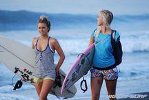 Surfers bethany and alana / My favourite surfers bethany and alana