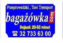 Przeprowadzki Kraków / Tablica informacyjna o firmie przeprowadzkowej w Krakowie
