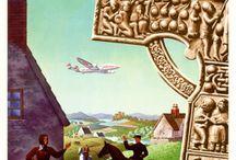 Ireland Travel Posters