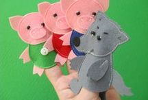 fairy tails finger puppets