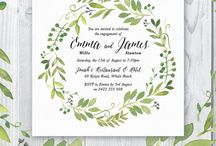 Engagement & Wedding invites