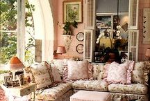 Dream Cottage_Living Room / by Loretta Cannon Proctor