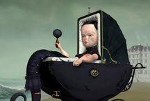 Artist Inspo: Ray Caesar / http://www.raycaesar.com/