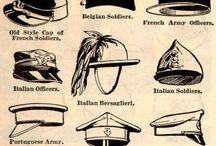 Военные, форменные головные уборы