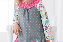 Molly & Millie / Wally & Willie / Designed for the playful younger girls, Molly & Millie is a line of whimsical playwear. Colorful sets are adorned with 3D embellishments and appliques that make each outfit special.  / by Peaches 'n Cream