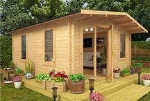Log Cabins / Garden Buildings Direct's fantastic line of Log Cabins. Find the best building for you and get you and your family the peace and relaxation you deserve!