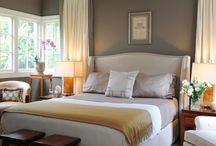 makuuhuone / rauhoittavia sisustuksia