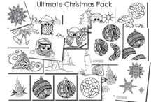 Christmas Colouring In