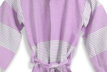 Bathrobes for Kids / Organic kids bathrobes made of pestemal