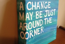 Hand painted canvas' - that I can recreate / by Alisha Montgomery